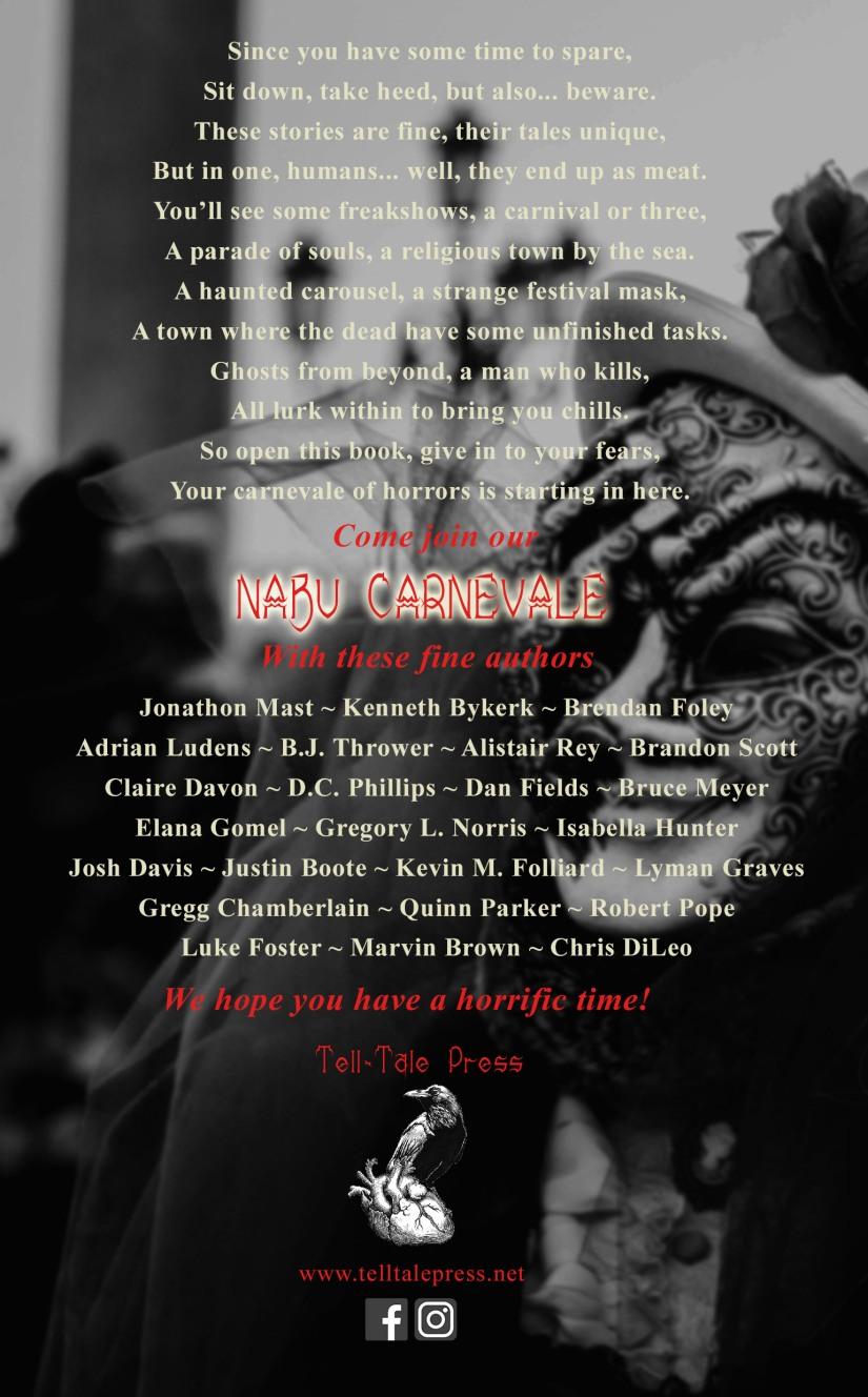 The Blood Tomes Vol 3 Nabu Carnevale Back Cover