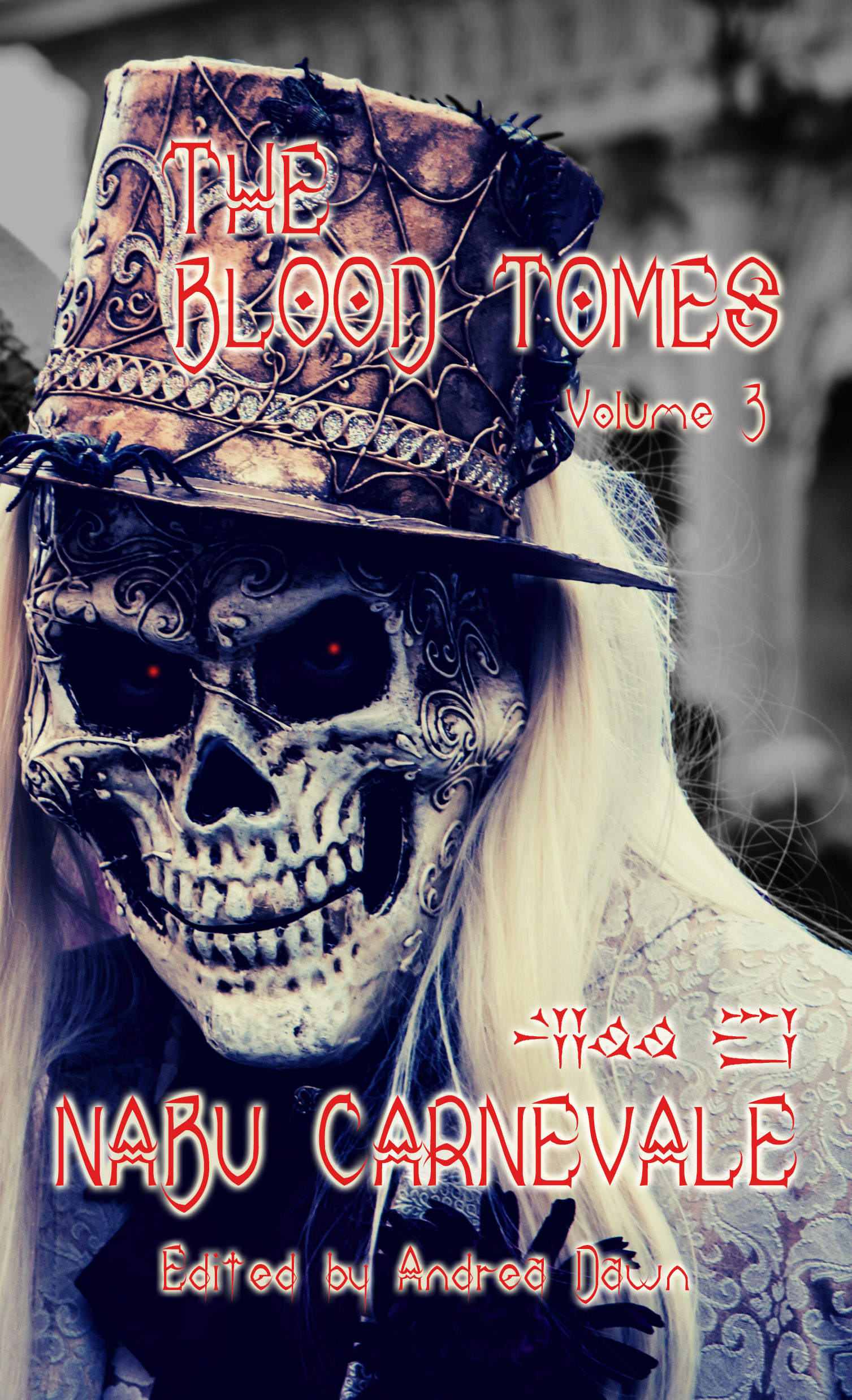 The Blood Tomes Vol 3 Nabu Carnevale Front Cover