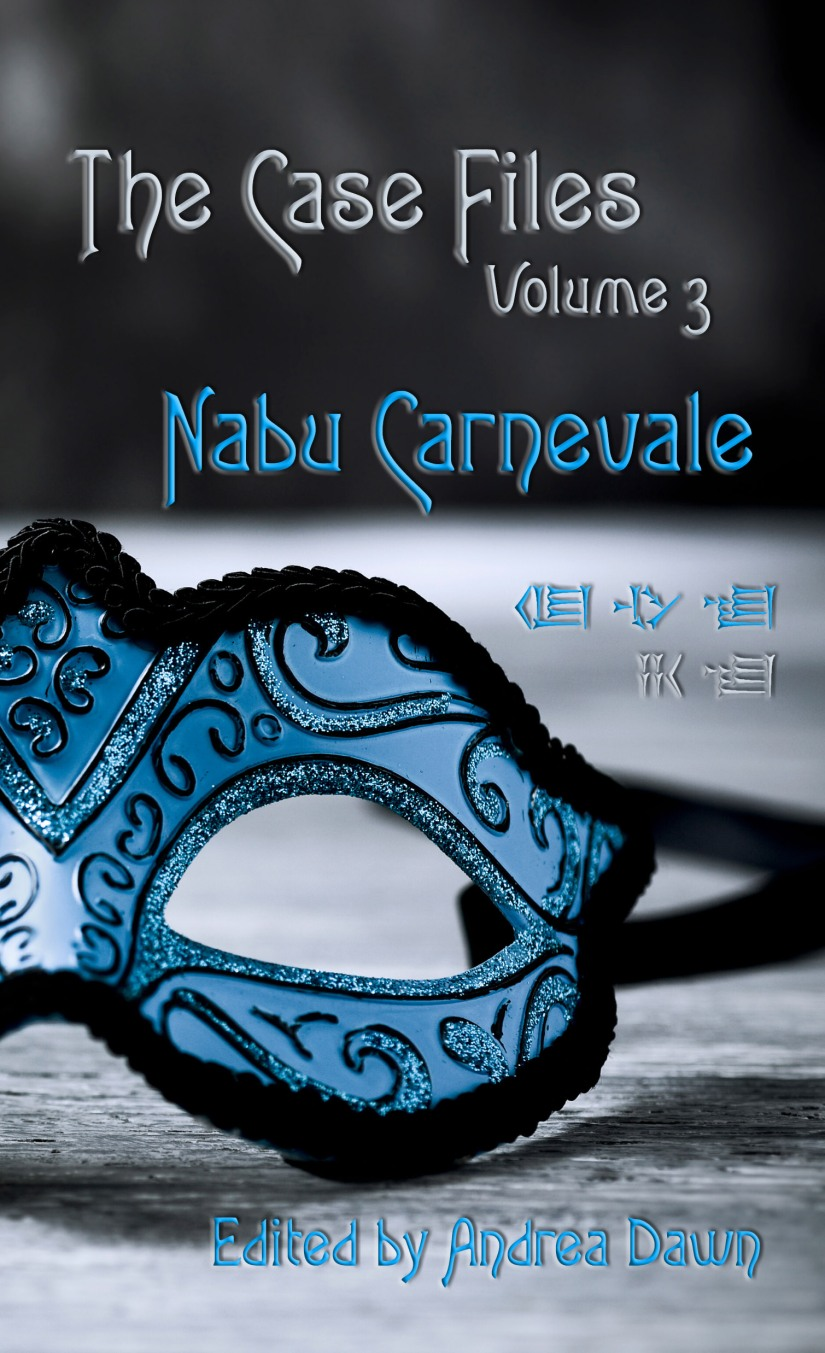 The Case Files Vol 3 Nabu Carnevale Front Cover