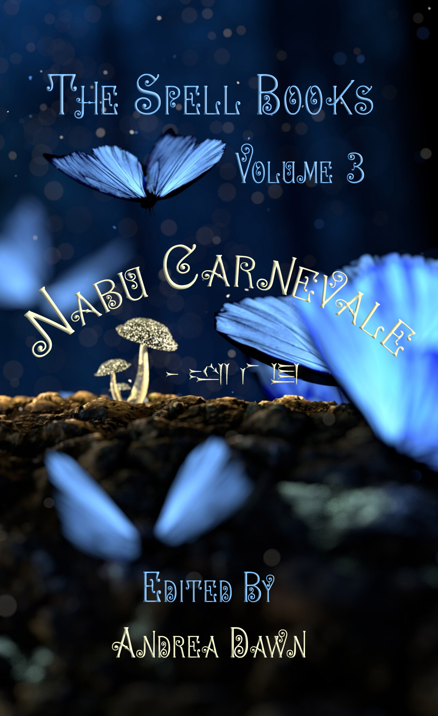 The Spell Books Vol 3 Nabu Carnevale Front Cover